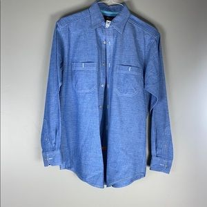 Casuals denim long sleeve shirt
